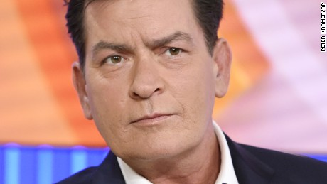 "Actor Charlie Sheen appears during an interview, Tuesday, Nov. 17, 2015 on NBC's ""Today"" in New York. In the interview, the 50-year-old Sheen said he tested positive four years ago for the virus that causes AIDS. (Peter Kramer/NBC via AP)"