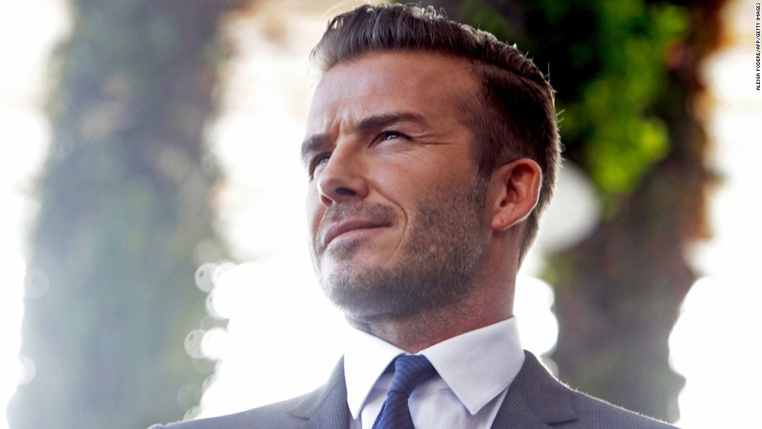David Beckham has been named People's Sexiest Man Alive for 2015. He joins this illustrious list of past honorees....