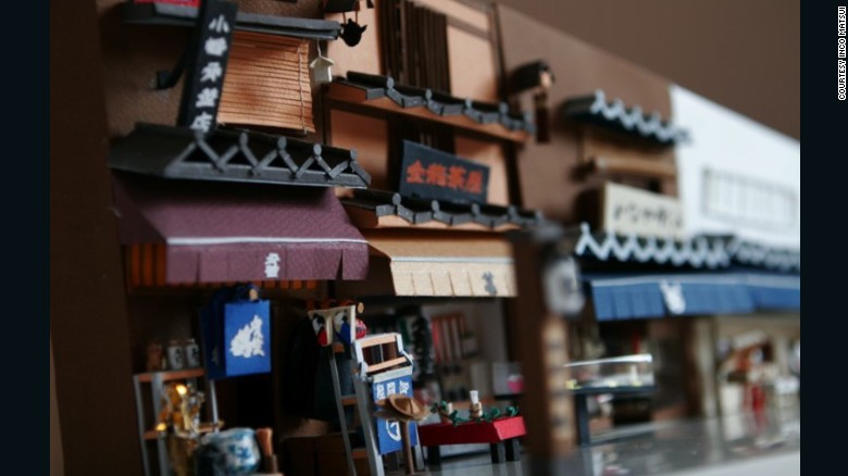 Her miniature version of Tokyo is actually from the past, and captures her nostalgic feelings about growing up in the city.