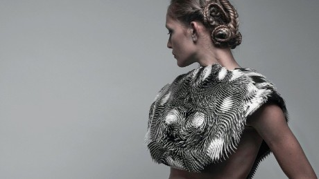 This 3-D-printed cape knows when you're being watched - CNN.com