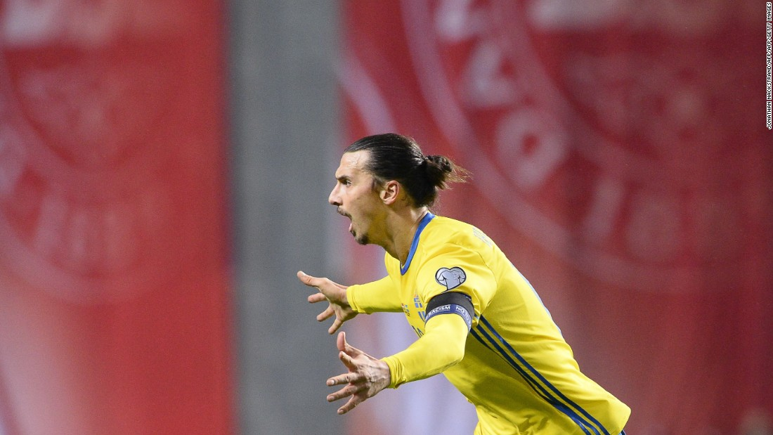 Ibrahimovic prolonged his international career by helping his country secure a place at  Euro 2016, at the expense of Denmark. Sweden won a two-legged playoff 4-3 on aggregate.
