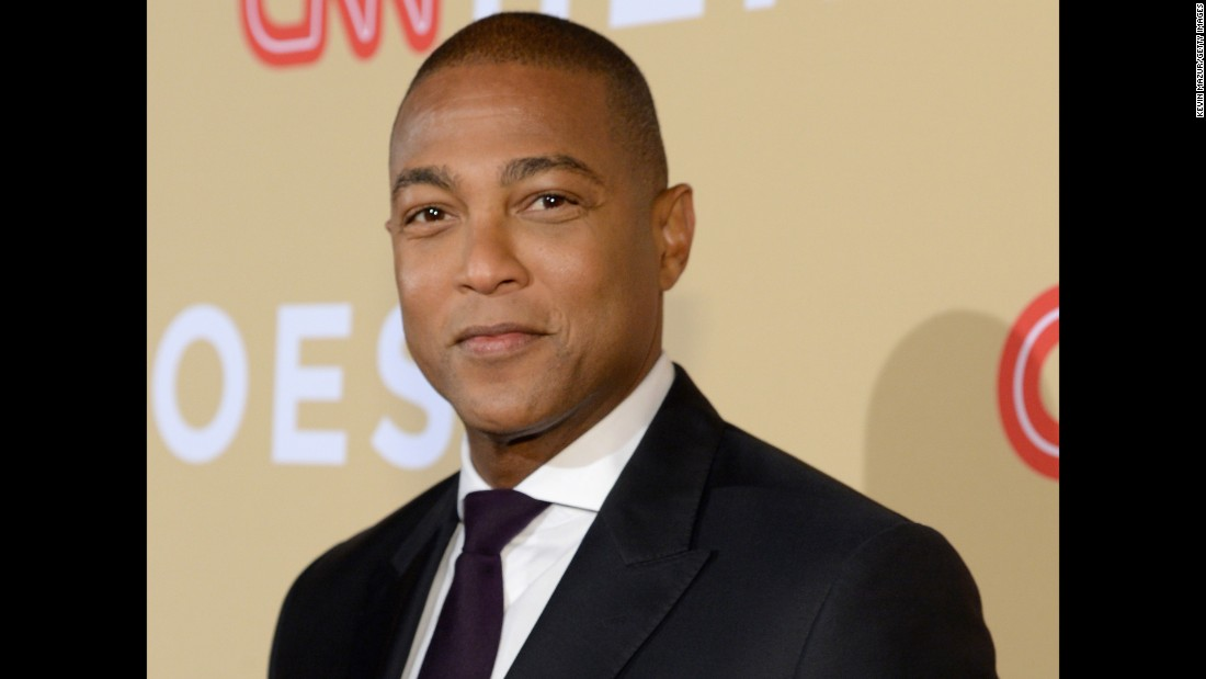 CNN anchor Don Lemon was in attendance.