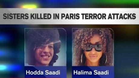 paris attacks Halima Saadi Ndiaye Family sisters killed bts lemon ctn_00031519