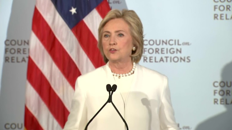 Hillary Clinton calls for increased airstrikes on ISIS