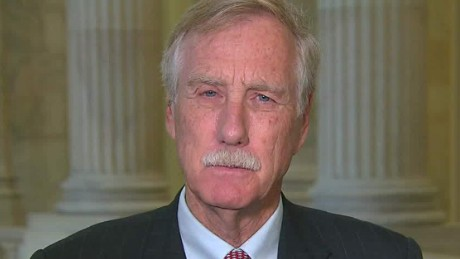 Angus King: Visa waivers bigger danger than refugees