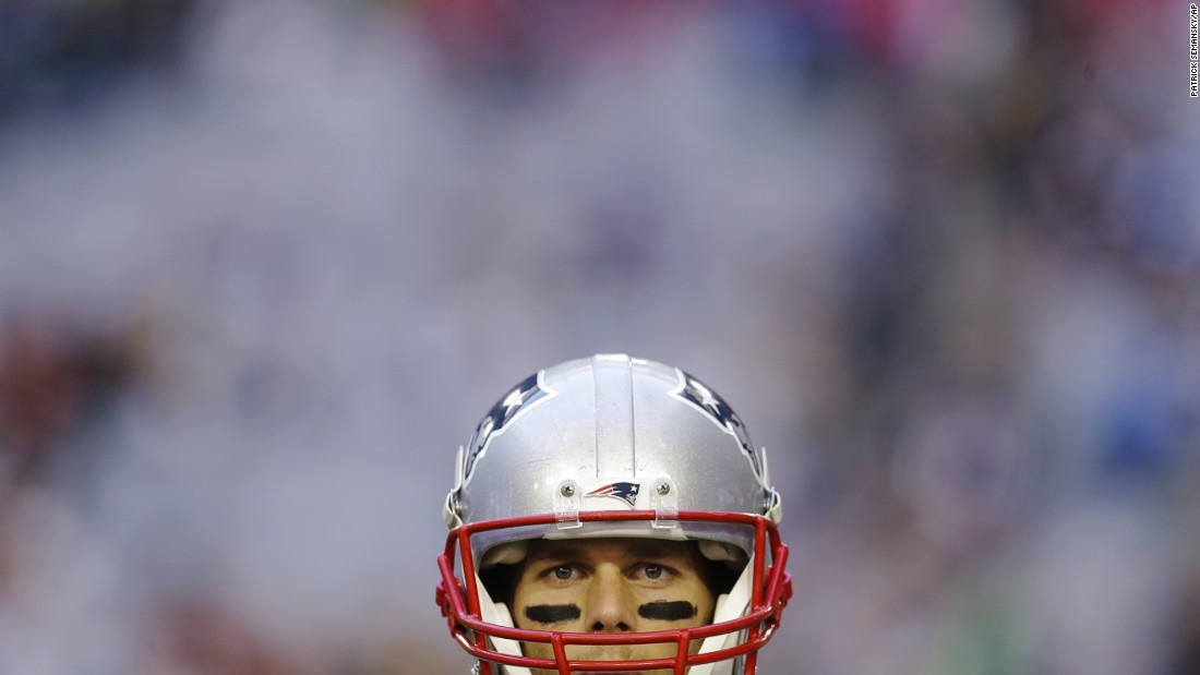 "New England Patriots quarterback Tom Brady warms up before <a href=""http://www.cnn.com/2015/02/01/us/gallery/super-bowl-xlix/index.html"" target=""_blank"">Super Bowl XLIX</a> on Sunday, February 1. Brady threw four touchdown passes in the game and was named the game's <a href=""http://www.cnn.com/2015/01/25/us/gallery/super-bowl-mvps/index.html"" target=""_blank"">Most Valuable Player</a> as the Patriots defeated the Seattle Seahawks 28-24 in Glendale, Arizona. With the victory, Brady joined Joe Montana and Terry Bradshaw as <a href=""http://www.cnn.com/2015/01/25/us/gallery/super-bowl-superlatives/index.html"" target=""_blank"">the only NFL quarterbacks to win four Super Bowls.</a>"