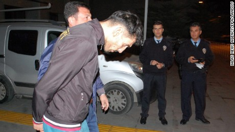 Police in Turkey detained Ahmet Dahmani, 26, of Belgium, on Friday.