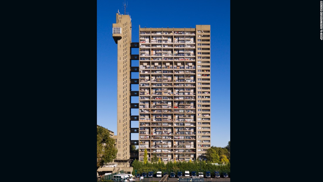"Designed by Ernö Goldfinger, the godfather of British modernist architecture, Trellick Tower drew from <a href=""/2016/08/08/architecture/le-corbusier-unesco/index.html"" target=""_blank"">Le Corbusier's</a> <em>Unite d'Habitation. </em>With <a href=""/2016/05/23/architecture/brutalism-this-brutal-world-modern-forms/index.html"" target=""_blank"">Brutalism back on the map</a>, it will no doubt prove a popular retro entry on the list of attractions."
