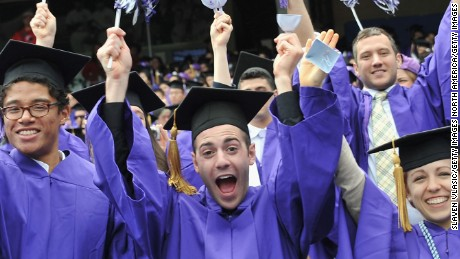NEW YORK, NY - MAY 18:  Atmosphere at the 2011 New York University commencement at Yankee Stadium on May 18, 2011 in New York City.  (Photo by Slaven Vlasic/Getty Images)