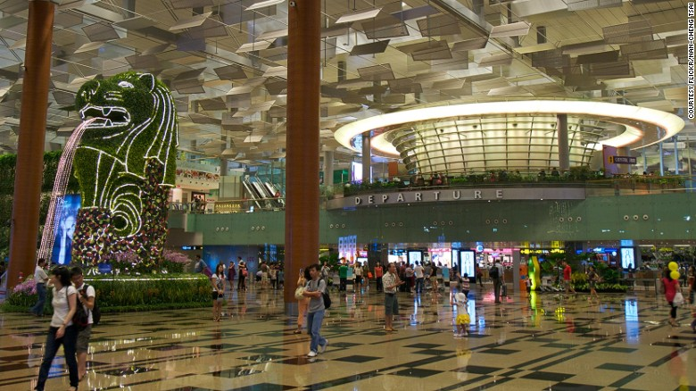 """Singapore's Changi. That thing is more of a mall than an airport. They have everything from a butterfly garden, to swimming pools. It's modern, it's easy to transit, it's convenient. Unbeatable,"" said Schlappig."