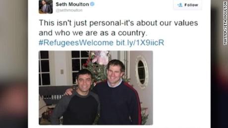 conressmanseth moulton on syrian refugee ban proposals holmes intv _00034202