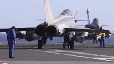 french warship syria attacks francona intv_00034223