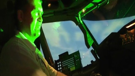 Laser strikes against planes up nearly 40%