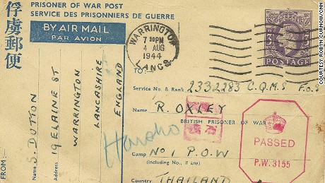 Postcards coming from home: The message addressed to become able to Oxley.