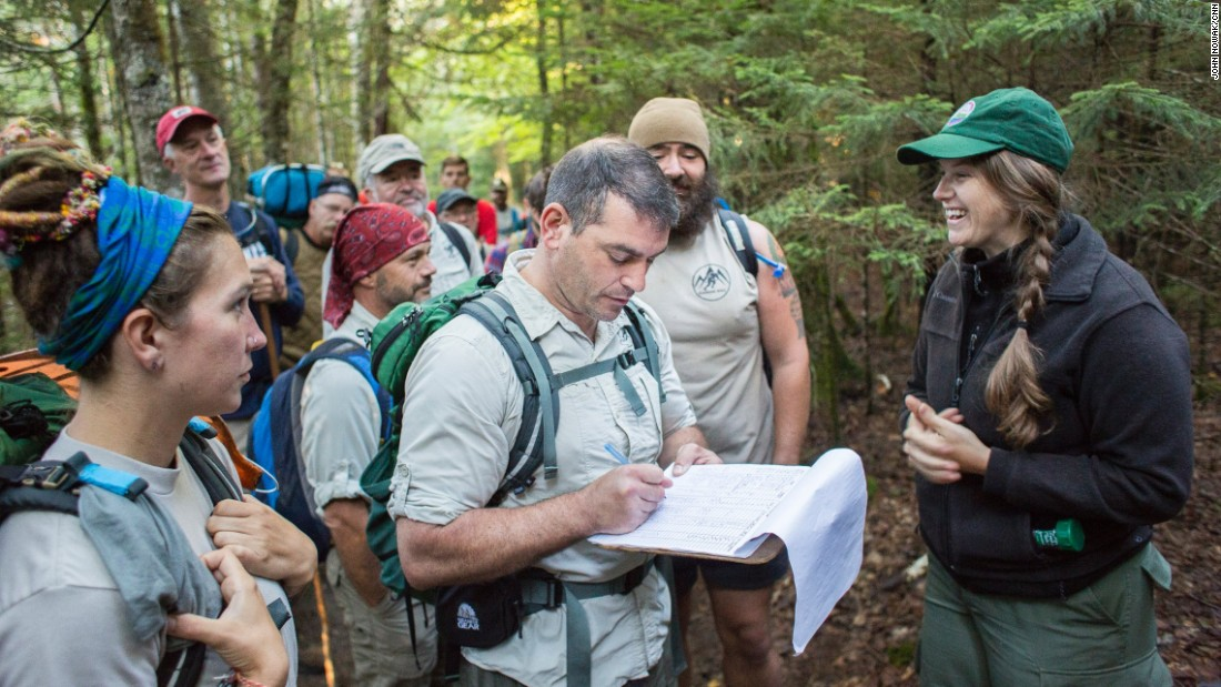 "Sean Gobin and his nonprofit support U.S. combat veterans as they ""walk off the war"" on the Appalachian Trail and other long-distance hikes throughout the country."