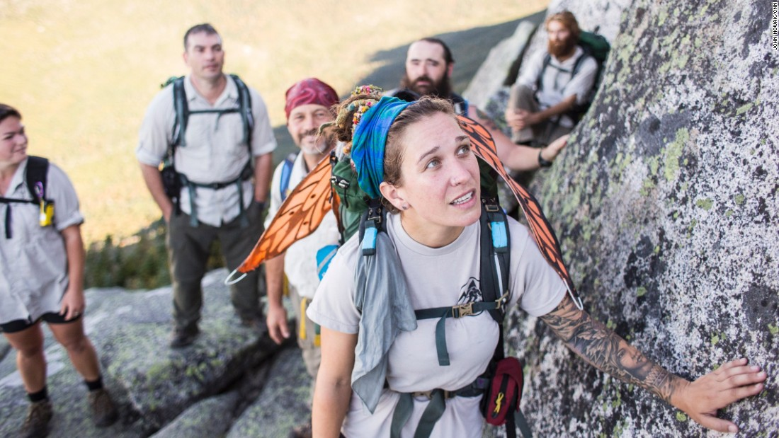 Michelle, a U.S. Air Force combat veteran, completed Warrior Hike's trek on the Appalachian Trail this year before returning home to her young daughter.
