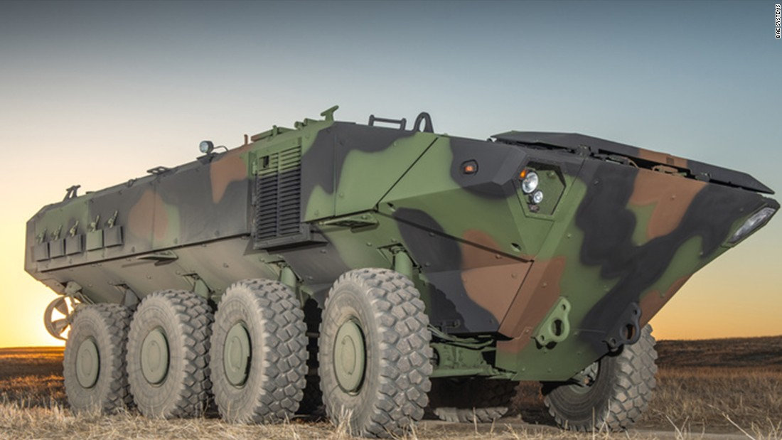 The U.S. Marine Corps is spending $225 million as it takes another stab at replacing its aging fleet of amphibious assault vehicles with amphibious combat vehicles.<br /><br />The Marine Corps this month awarded two contractors -- BAE Systems and SAIC -- contracts to develop 13 prototypes of the new vehicle.<br /><br />While the new amphibious combat vehicle is being tested, the Marines will update their existing 392 amphibious vehicles to better protect against mine blasts, upgrade their engines and improve land and water mobility, according to the announcement.<br />While the Marines said they hope to have infantry paired up with the new ACVs by 2020, several lawmakers have said they'd like to see even more ACVs added in the future.