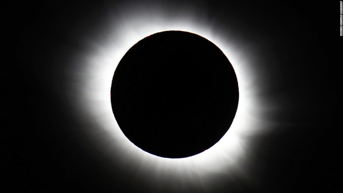"<strong>March 20:</strong> A total solar eclipse forms over Svalbard, Norway. <a href=""http://www.cnn.com/2015/03/20/world/gallery/solar-eclipse-march-2015/index.html"" target=""_blank"">The rare event</a> was visible from parts of Europe."