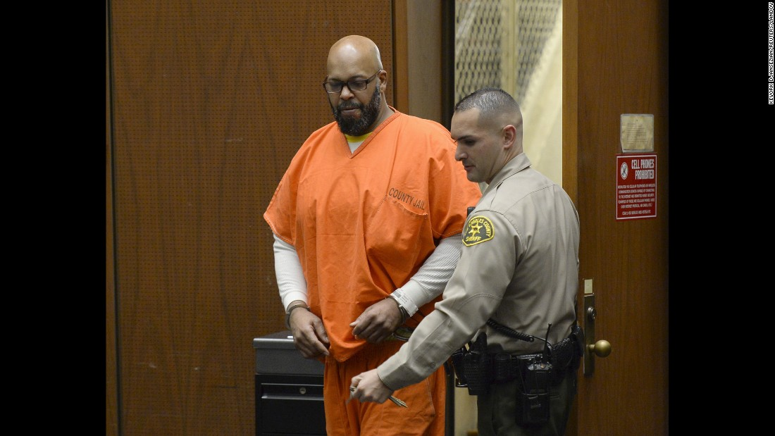 "<strong>April 30:</strong> Former rap mogul Marion ""Suge"" Knight appears in court for his arraignment hearing in Los Angeles. <a href=""http://www.cnn.com/2015/04/16/us/suge-knight-murder-court-trial/index.html"" target=""_blank"">He was ordered to stand trial</a> for murder and other charges stemming from a hit-and-run confrontation that left one man dead and another injured earlier this year. Knight has pleaded not guilty."
