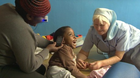 Nun helps Nairobi's poorest citizens