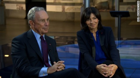 Former New York Mayor Michael Bloomberg and Paris Mayor Anne Hidalgo, in Paris, speak with CNN's Christiane Amanpour about climate.