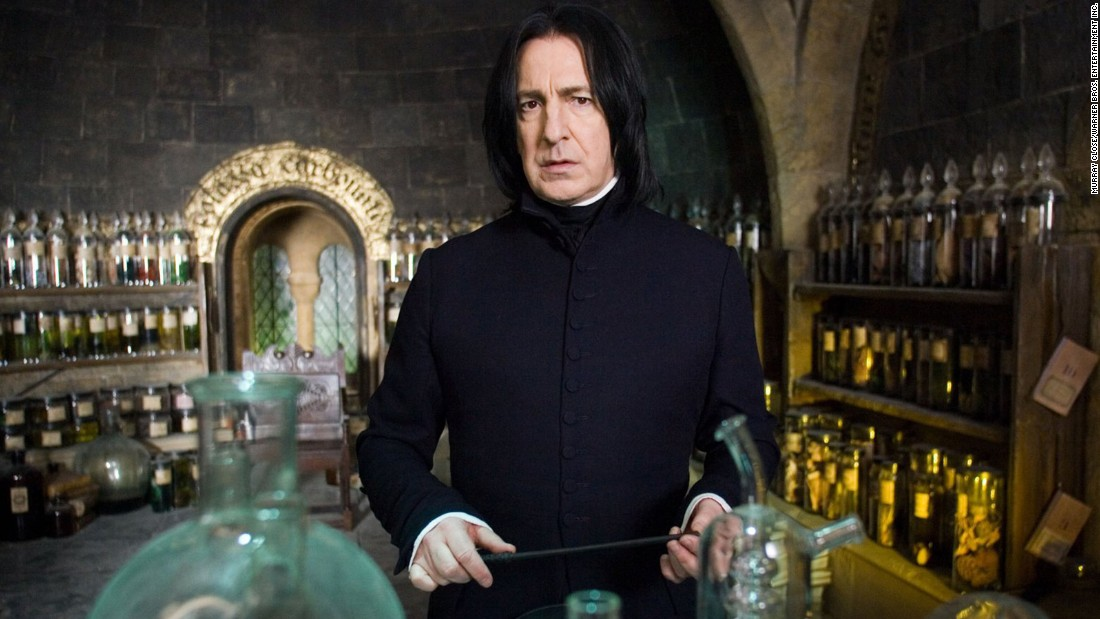 "<a href=""http://www.cnn.com/2016/01/14/entertainment/obit-alan-rickman/index.html"" target=""_blank"">Alan Rickman</a>, the British actor who played the brooding Professor Severus Snape in the ""Harry Potter"" series years after his film debut as the ""Die Hard"" villain Hans Gruber, died January 14 after a short battle with cancer, a source familiar with his career said. He was 69."