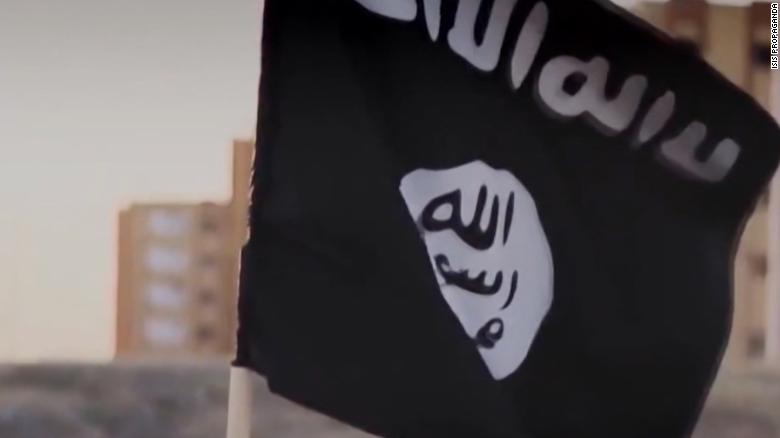 American emerges from ISIS territory