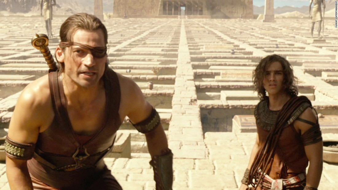 "The makers of 2016's ""Gods of Egypt"" came under fire for showcasing a mostly white cast that includes Danish actor Nikolaj Coster-Waldau, left, and Australian actor Brenton Thwaites alongside Scotsman Gerard Butler. Amid intense criticism, director Alex Proyas issued an apology, saying, ""it is clear that our casting choices should have been more diverse."" As you'll see from this gallery, it's not the first time such casting has stirred controversy."