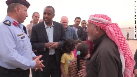 Carson: Refugees' true desire 'to be resettled in Syria'