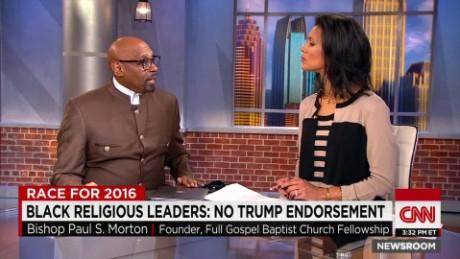 Black religious leaders: no Trump endorsement