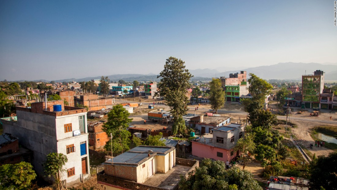"""Doyne witnessed the effects of Nepal's civil war. She met women and children who were suffering, struggling to survive. """"It changed me,"""" said Doyne."""