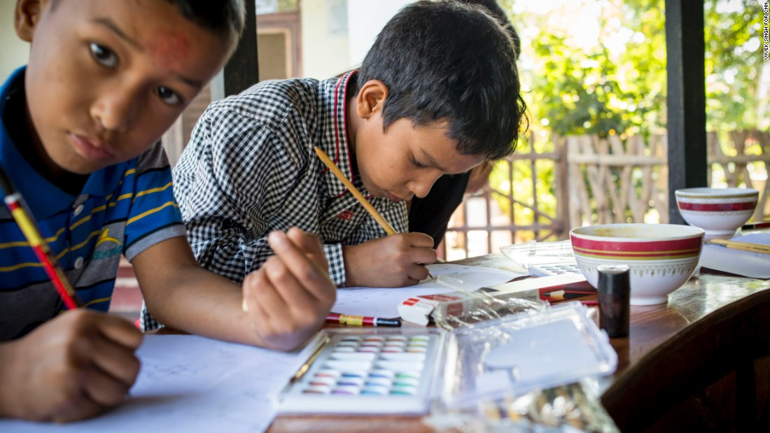 In 2010, the group opened its Kopila Valley School, which today educates more than 350 students. They also receive books, food and medical care.