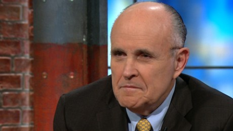 Rudy Giuliani Donal Trump 9/11 celebrating claims newday_00000000