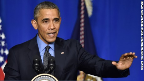 Obama optimistic climate change ISIS paris attacks_00000000
