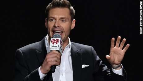 LOS ANGELES, CA - DECEMBER 05:  Host Ryan Seacrest speaks onstage during KIIS FM's Jingle Ball 2014  powered by LINE at Staples Center on December 5, 2014 in Los Angeles, California.  (Photo by Kevin Winter/Getty Images for iHeartMedia)