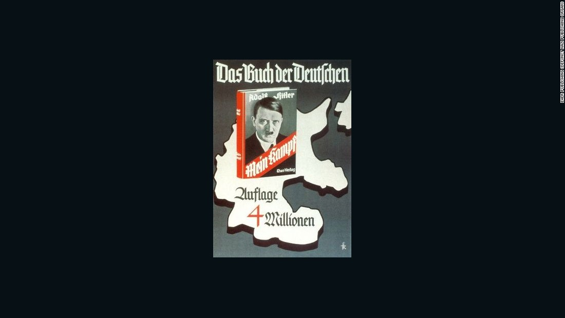 'Mein Kampf' to be republished in Germany 70 years after Hitler's death