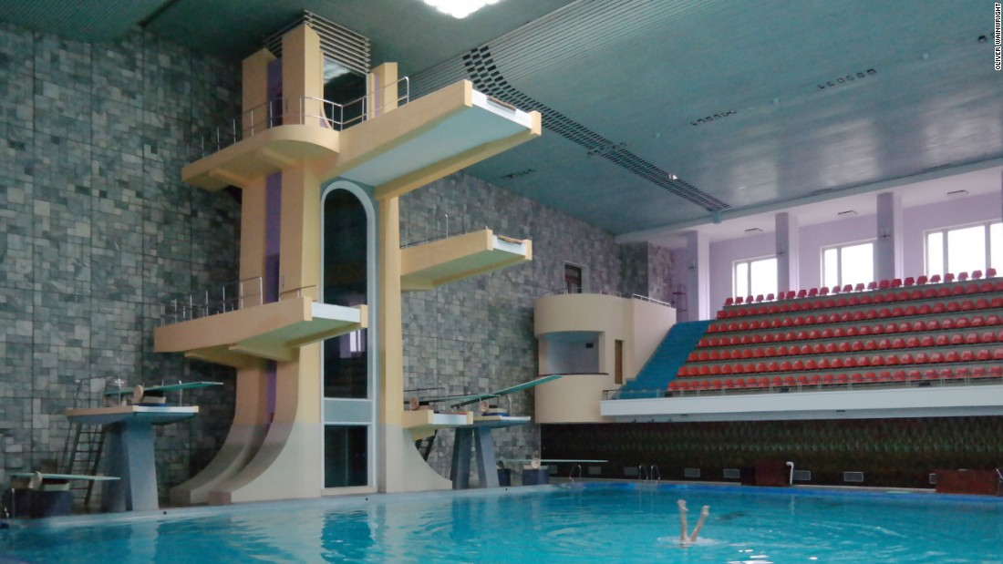 Changgwang Health and Recreation Complex, Pyongyang, 1981-86