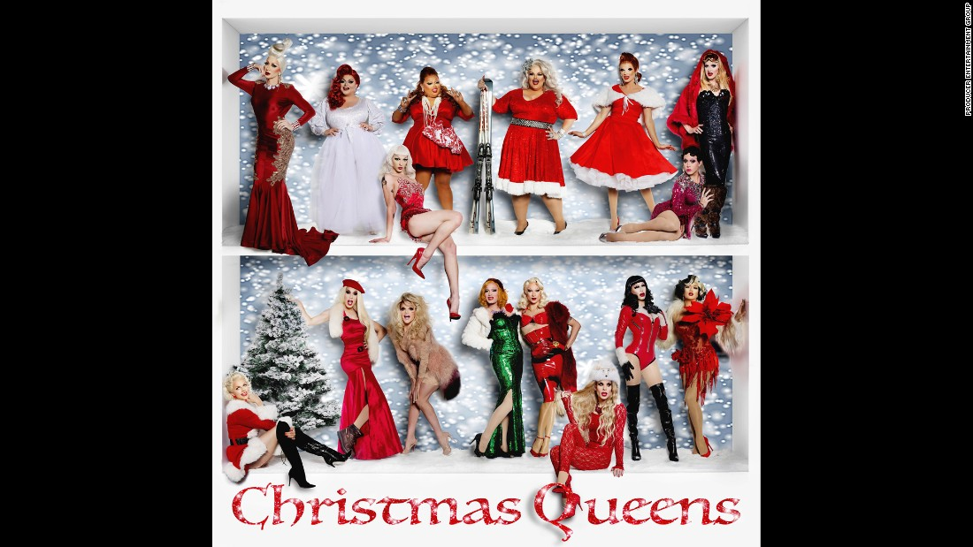 """'Drag queens provide the singing on this irreverent holiday album, which mixes traditional carols with sassy songs like """"A Very Cozby Christmas.""""' from the web at 'http://i2.cdn.turner.com/cnnnext/dam/assets/151202124150-10-christmas-albums-2015-super-169.jpg'"""