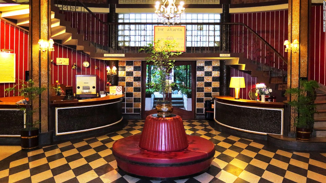 The Atlanta Hotel Bangkok In Glamorous Art Deco