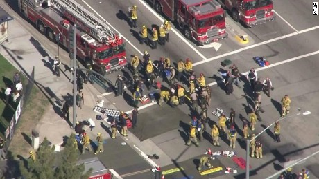 An active shooter was reported at Inland Regional Center in San Bernardino, California on Wednesday.