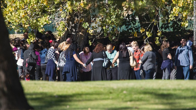 Prayer in San Bernadino