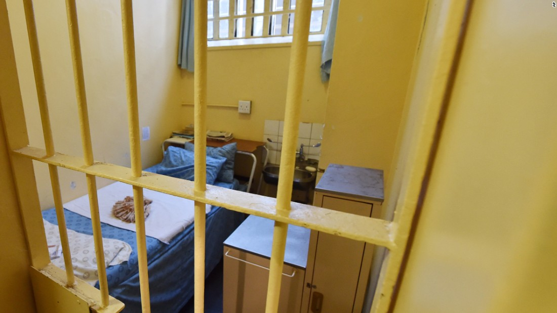 Oscar Pistorius' Prison Single Room Cell