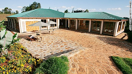 ITEN, KENYA - FEBRUARY 20:   A General view of the High Altitude Training Centre in Iten, Kenya. The camp was opened in 2000 by elite athlete Lornah Kiplagat for young promising kenyan female athletes