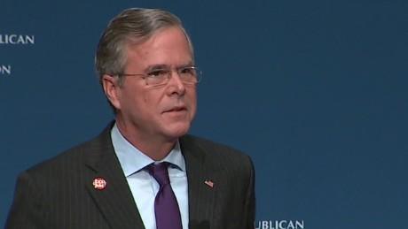 Jeb Bush whoop Hillary Clinton sot_00000000