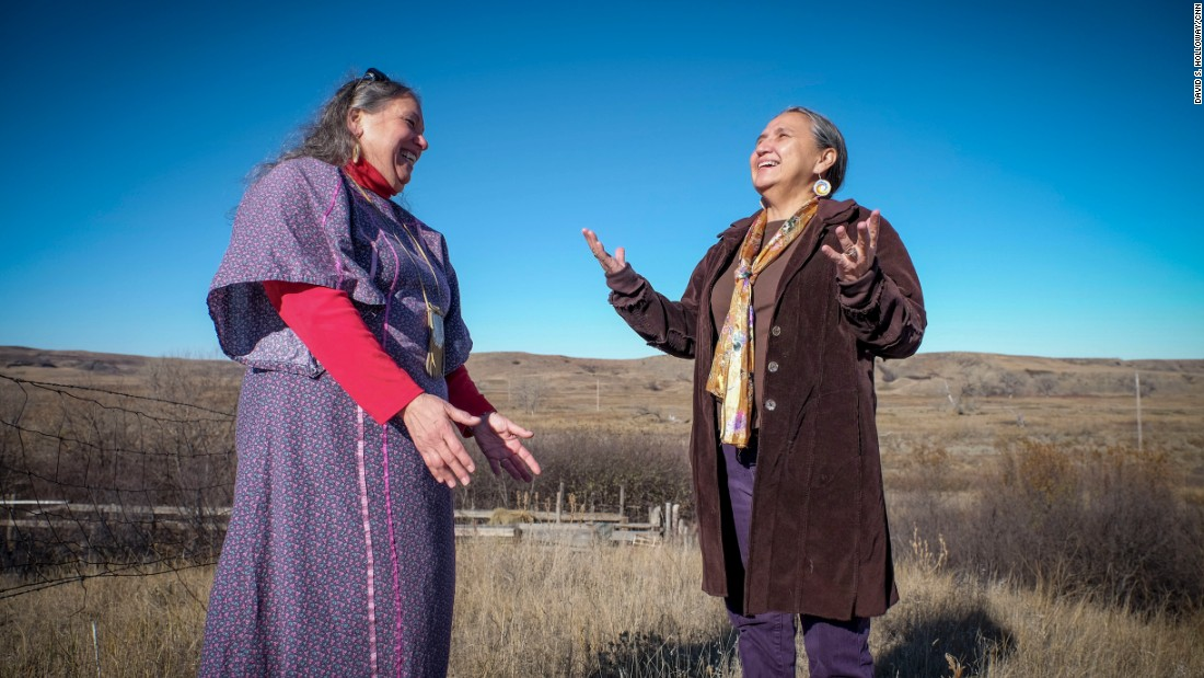 When Ripley was young and visiting her grandmother's farm in Indiana, her grandmother told Rochelle stories about her Native American heritage and asked that Rochelle one day go and help the Lakota people.