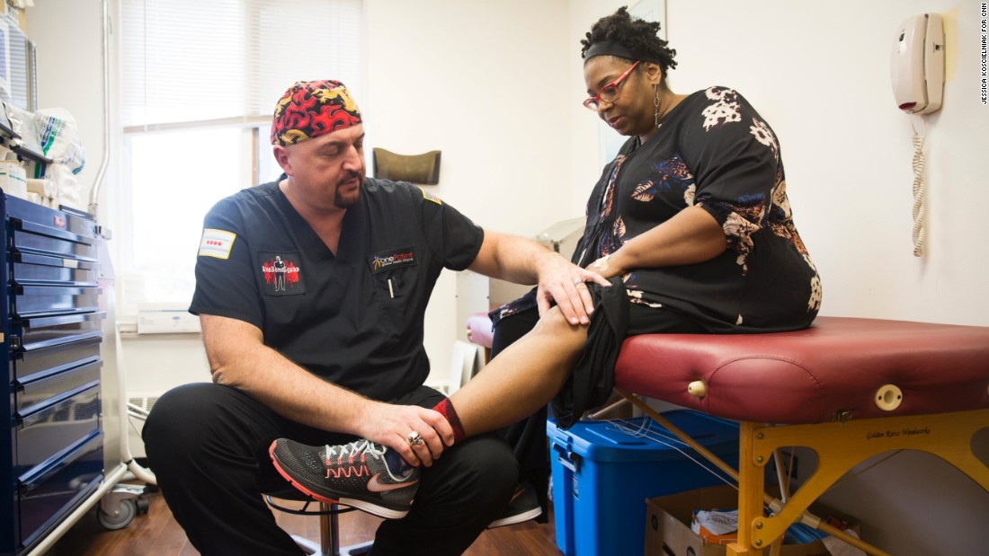 His nonprofit operates two clinics on the South Side of Chicago and another on Chicago's North Side. Ivankovich says they never turn away a patient.
