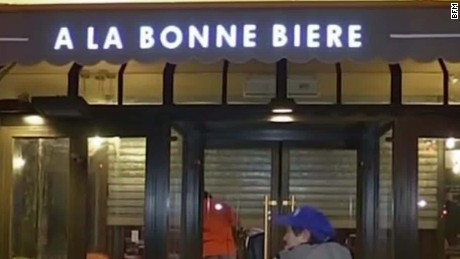Cafe in Paris terror attack reopens