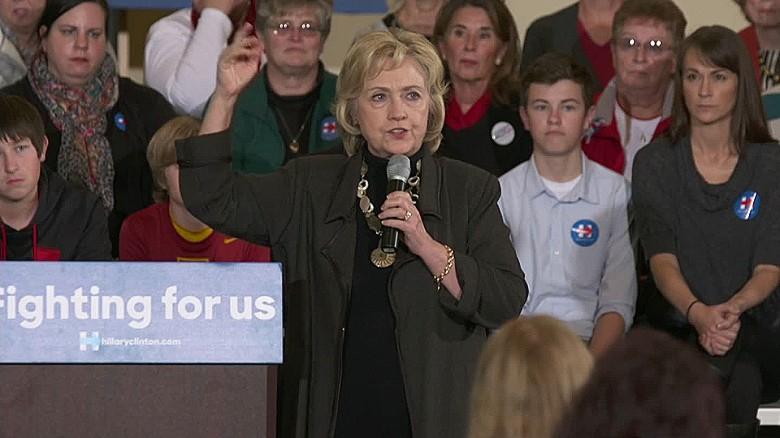 Hillary Clinton defends gun control push