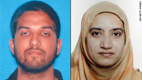 Where were San Bernardino suspects trained?