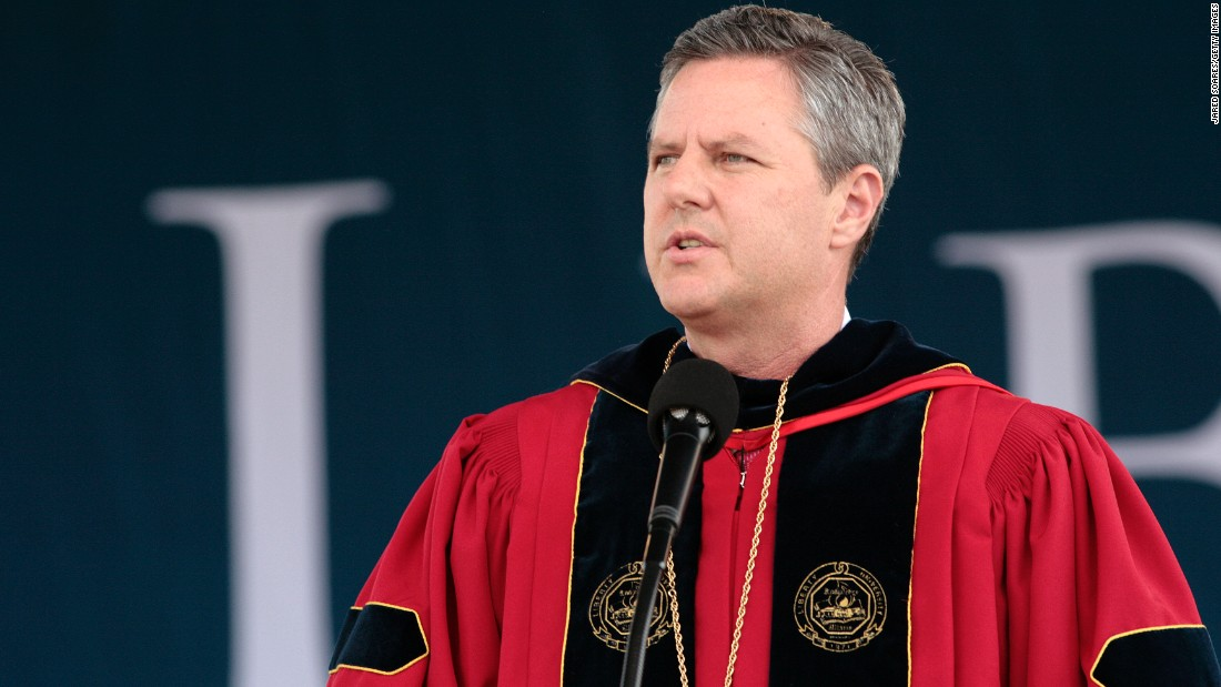 The Rev. Jerry Falwell Jr., president of Liberty University